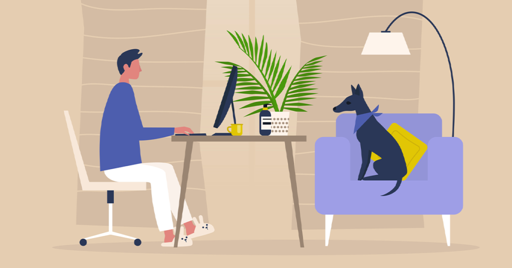 Tips for Working from Home: Serenity Now, Work Buddies, and Phone Tossing